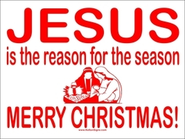 Jesus Is The Reason sign